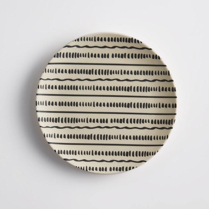 Set of 4 Bamboska Bamboo Dessert Plates