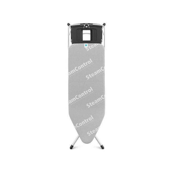 table repasser steam control 124x45 gris brabantia la redoute. Black Bedroom Furniture Sets. Home Design Ideas