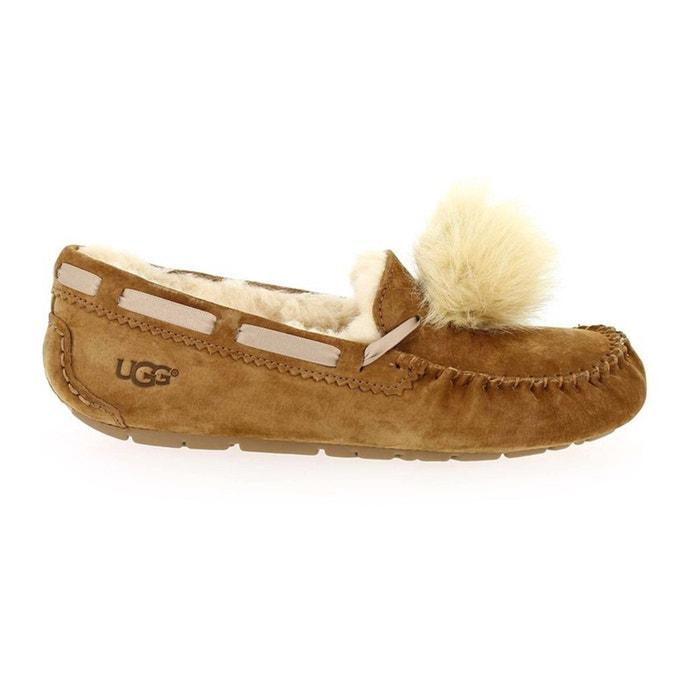 Dakota Sheepskin Pom Pom Loafers  UGG image 0