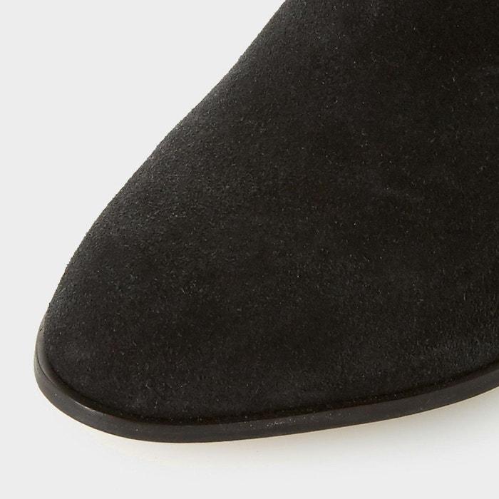 Bottes au genou à talons hauts et effet froncé - vegas Dune London