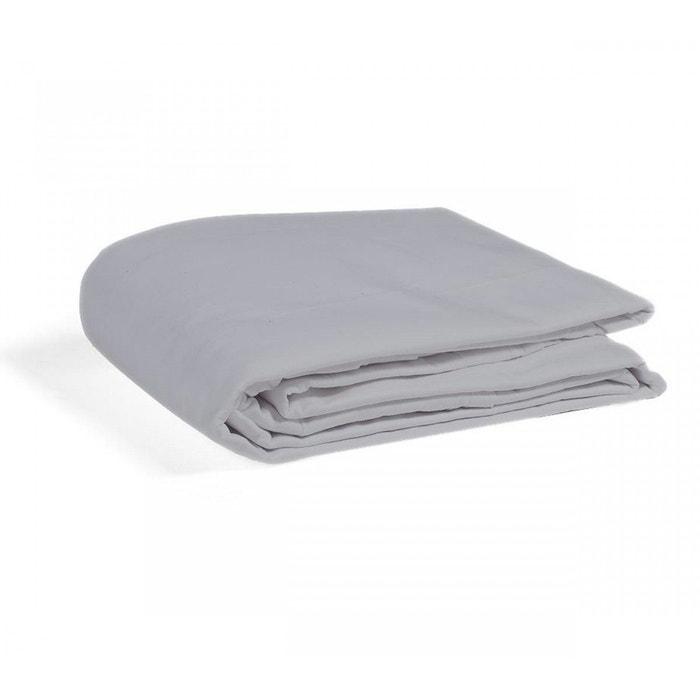 drap plat souris 100 coton gris terre de nuit la redoute. Black Bedroom Furniture Sets. Home Design Ideas