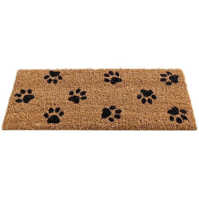 paillasson pattes de chien en fibre de coco multicolore gardman la redoute. Black Bedroom Furniture Sets. Home Design Ideas