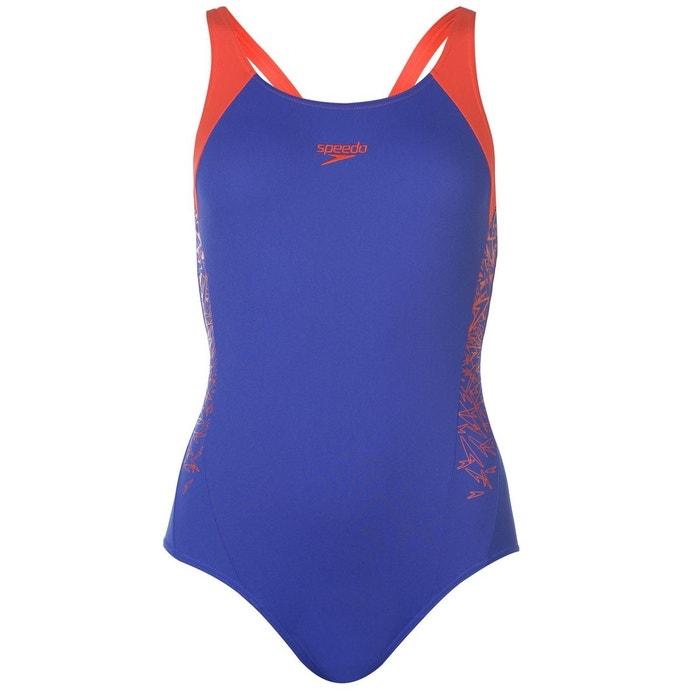 e45213bd29 Maillot de bain une pièce natation bleu/rouge Speedo   La Redoute
