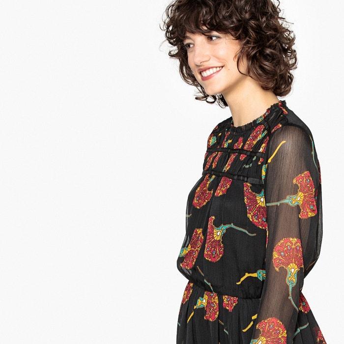 Vestido evasé comprido, estampado floral  MADEMOISELLE R image 0