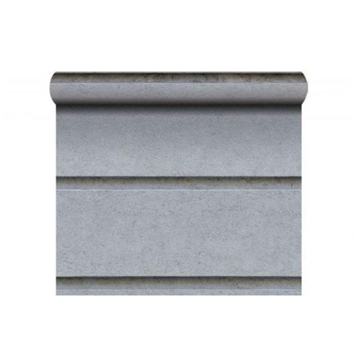 papier peint pierre haussmannienne grise couleur unique koziel la redoute. Black Bedroom Furniture Sets. Home Design Ideas
