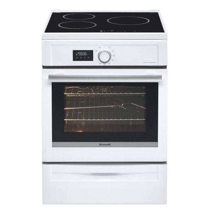 Cuisinière induction BCI6653W blanc