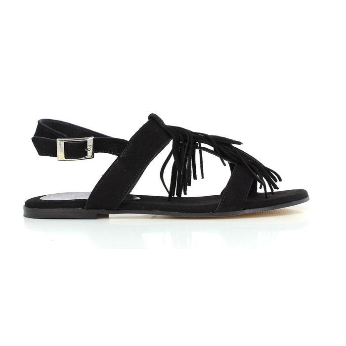 Elizabeth Stuart WLANY 606 NOIR - Chaussures Sandale Femme