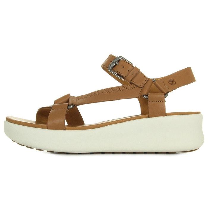 Sandales femme los angeles wind sporty sandal marron Timberland