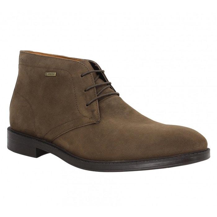 best website 9c388 37585 Boots cuir chilver hi noir Clarks La Redoute GH8HUA1Z - destrainspourtous.fr