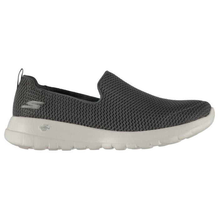 Chaussures de sport à enfiler gris charbon Skechers Sortie Des Achats En Ligne Vente D'origine Prix Bas Prix Pas Cher Acheter Pas Cher Extrêmement VhIKDN3n9