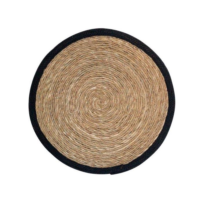 estello tapis en fibres naturelles noir drawer la redoute. Black Bedroom Furniture Sets. Home Design Ideas