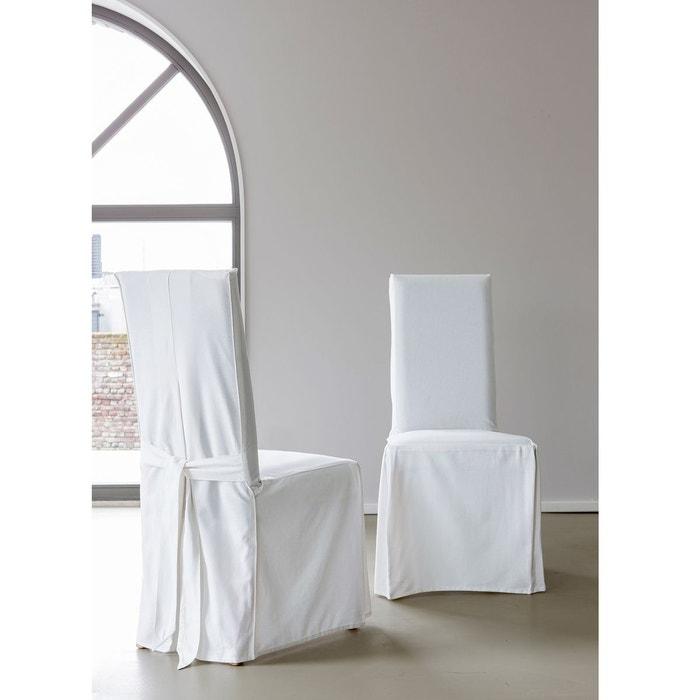 Housses de chaise lot de 2 scenario la redoute - Housse de chaise la redoute ...