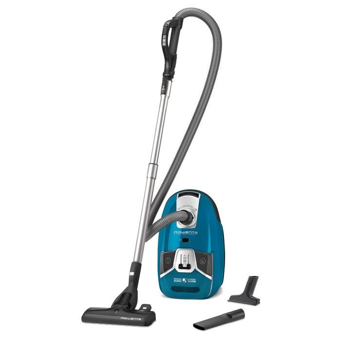 aspirateur avec sac silence force compact ro6331ea bleu rowenta la redoute. Black Bedroom Furniture Sets. Home Design Ideas