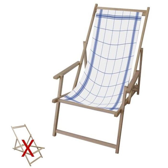 toile pour chilienne torchon bleu en polyester multicolore. Black Bedroom Furniture Sets. Home Design Ideas