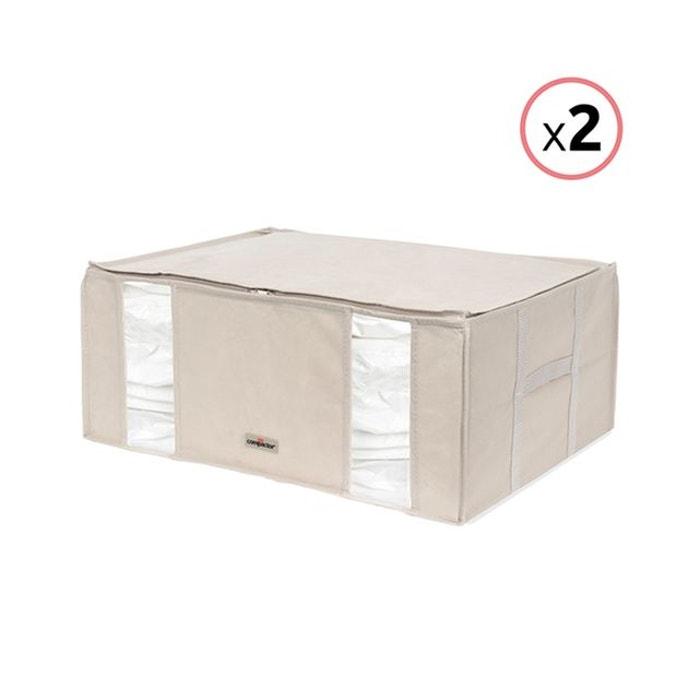 """Lot de 2 compactor """"2.0"""" xxl - housses de rangement sous vide beige Compactor   La Redoute"""