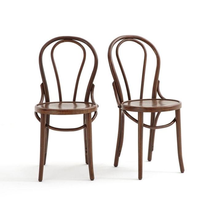 chaise style bistrot bistro lot de 2 la redoute. Black Bedroom Furniture Sets. Home Design Ideas