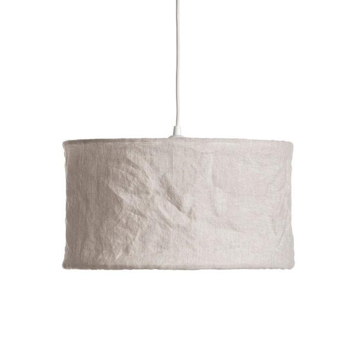 suspension en lin 35 x h20 cm baulin am pm la redoute. Black Bedroom Furniture Sets. Home Design Ideas