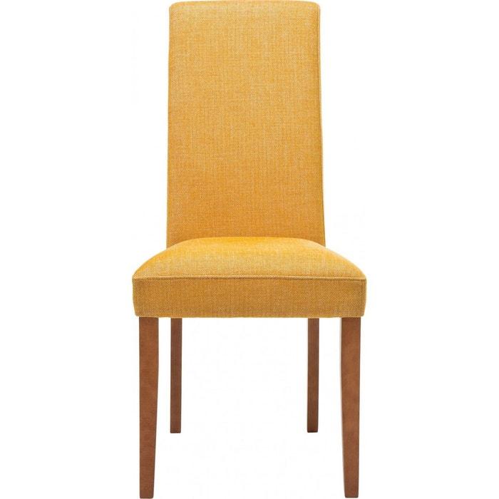 Chaise econo slim rhythm moutarde kare design jaune kare for Econo meubles