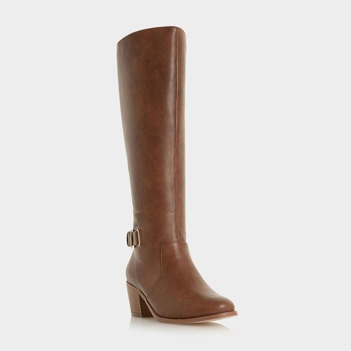 Bottes au genou à talons hauts et boucle - talum  Head Over Heels By Dune  La Redoute