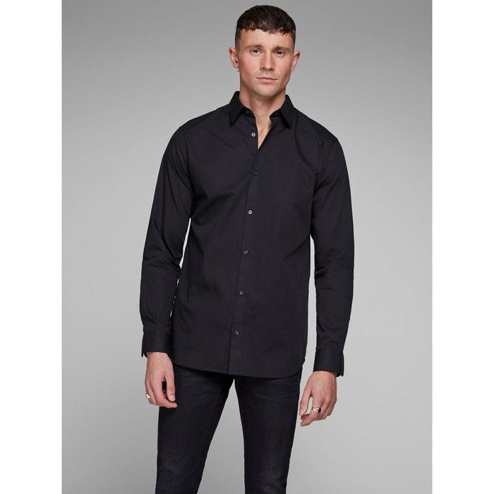 Chemise à manches longues sans repassage Jack   Jones   La Redoute 119270d7515