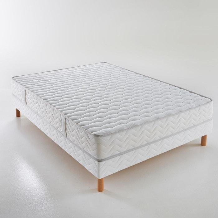 matelas mousse hr mousse m moire de forme gran blanc reverie la redoute. Black Bedroom Furniture Sets. Home Design Ideas