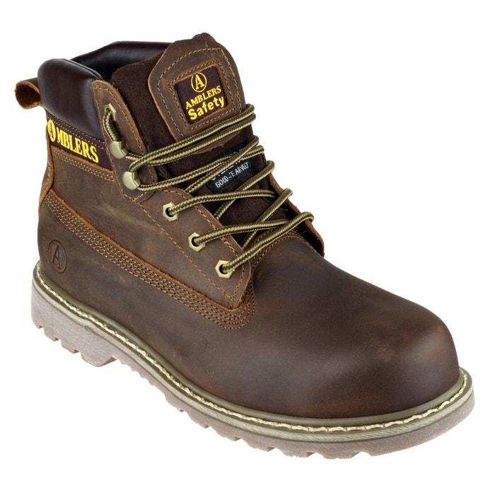 Amblers fs164 - chaussures montantes de sécurité - adulte unisexe marron Amblers Safety