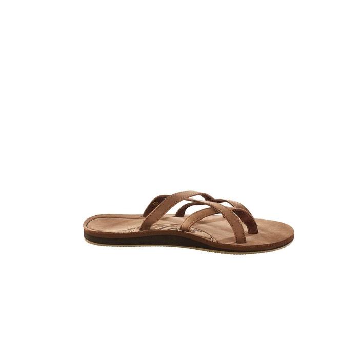 Olowahu leather - sandales femme - marron marron Teva