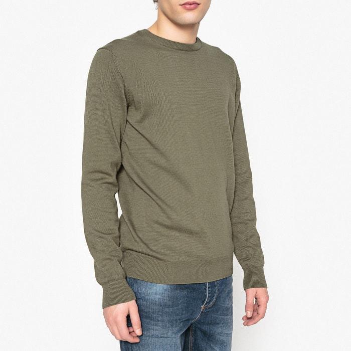 фото Пуловер с круглым вырезом 100% хлопка La Redoute Collections