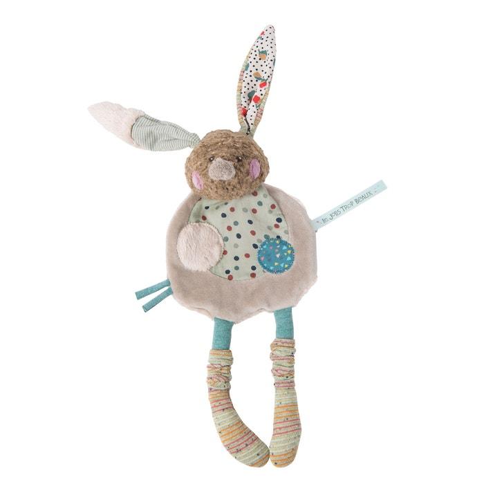 Les Jolis Trop Beaux Rabbit Comforter  MOULIN ROTY image 0