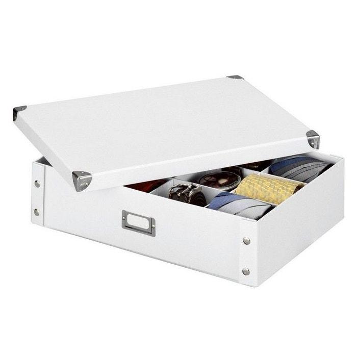Bo te de rangement 12 compartiments zeller 44 5 x 31 5 x for Boite a couture la redoute