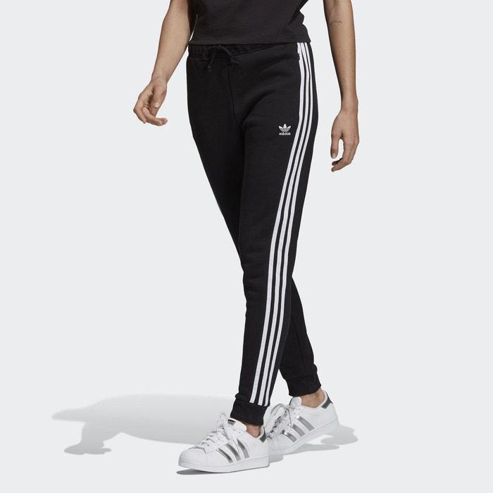 Pantalon de survêtement cuffed noir Adidas Originals   La Redoute 0843d6b35d7a
