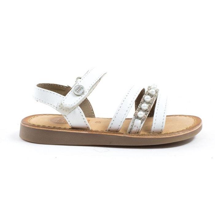 b0e87a550bcea Sandales et nu-pieds cuir blanc Gioseppo