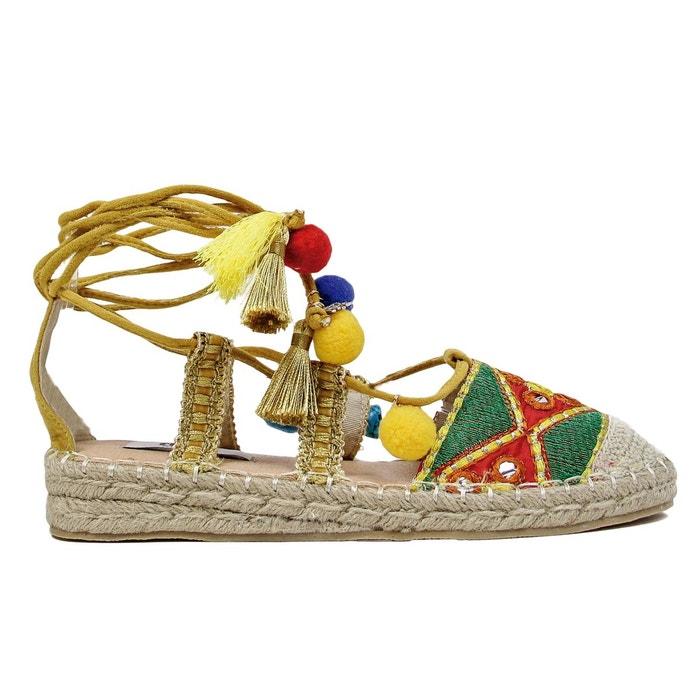 toile en multicolores BAMBURI Sandales COOLWAY EwqtTxO0Tn