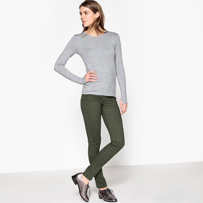Image Pantaloni slim, 5 tasche, cotone stretch atelier R