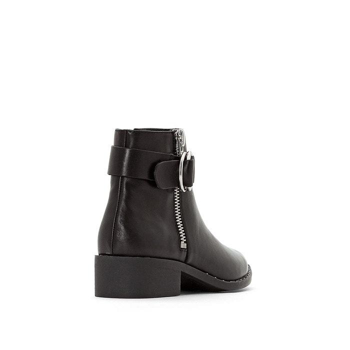 Boots Joana La Noir Cuir Redoute Jonak YxrgqYOH