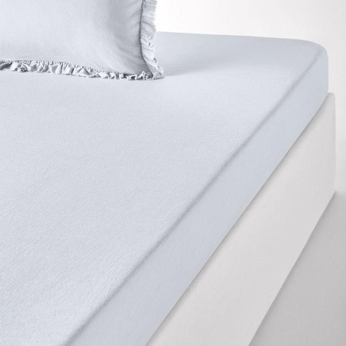 NILLOW Plain Linen/Cotton Fitted Sheet  La Redoute Interieurs image 0