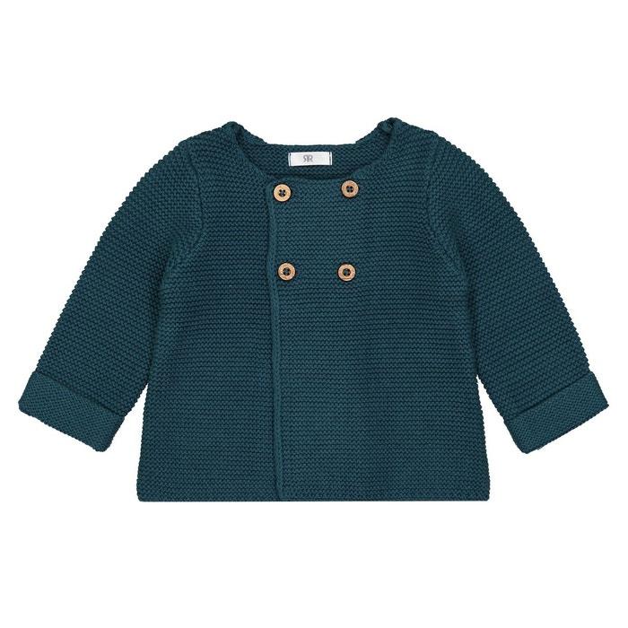 Gilet naissance en tricot Préma -2 ans  LA REDOUTE COLLECTIONS image 0