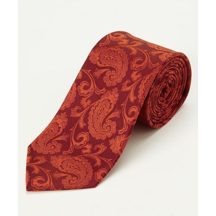 100% Garanti En Ligne Dépêchez-vous Cravate en soie à motif cachemire joe browns homme rouge Joe Browns | La Redoute Jeu Peu Coûteux En Ligne Pas Cher Pas Cher wrMj2OBJF