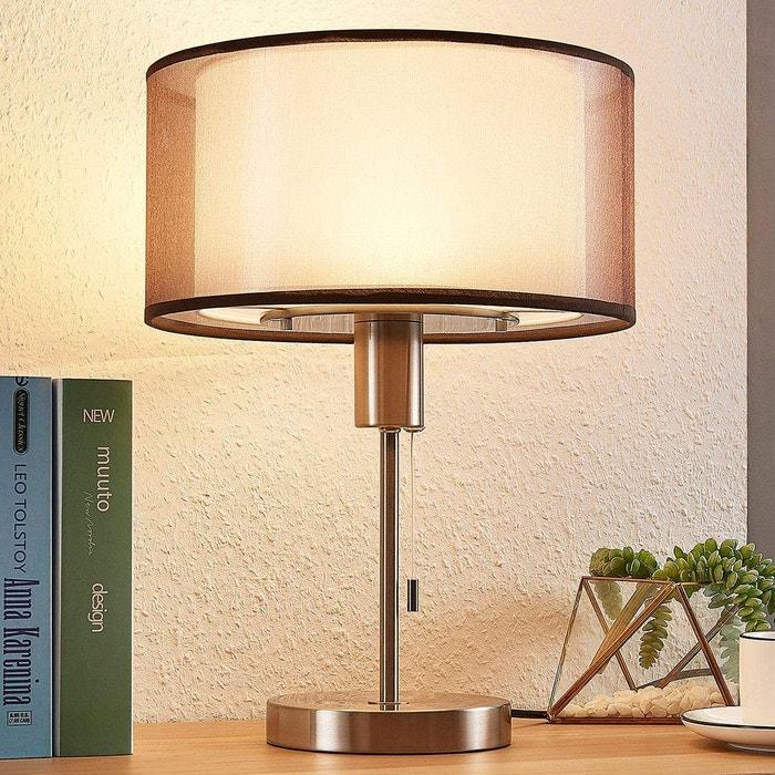 Poser À Moderne Lampe LedAmon Textile En XwukTPiOZ