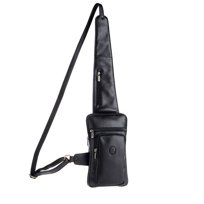 5c7f4d710d Sacoche d'épaule pour homme en cuir véritable avec bandoulière Nuvola Pelle  NUVOLA PELLE image