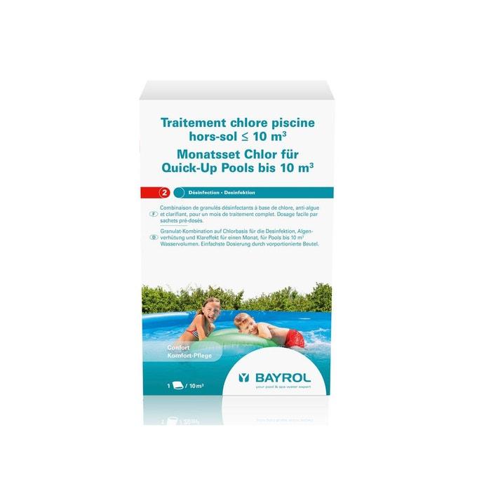 Traitement au chlore pour piscine hors sol de 10 m for Piscine hors sol la redoute