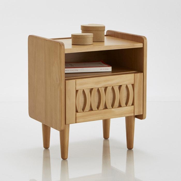 Malu vintage bedside table wood la redoute interieurs - La redoute table de nuit ...