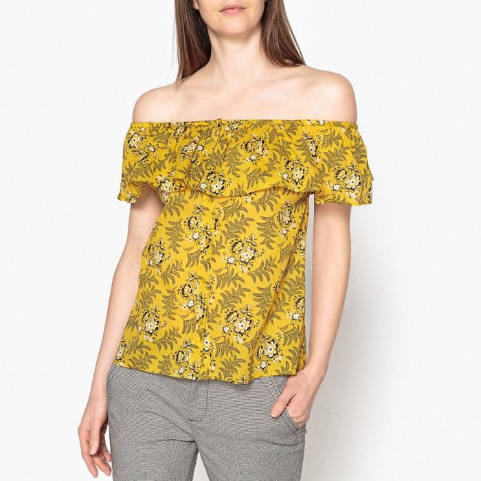 Блузка с рисунком, с воланом PAOLA  JOLIE JOLIE PETITE MENDIGOTE image 0