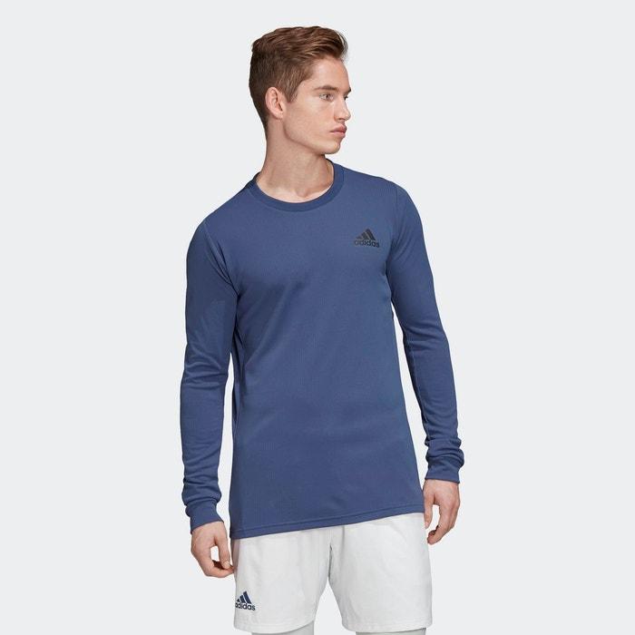 T shirt à manches longues heat.rdy violet Adidas Performance
