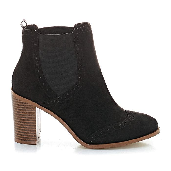 afbeelding Boots met hak La Redoute Collections