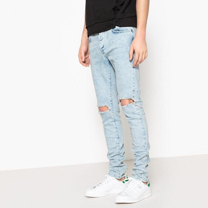 Jeans slim destroy  La Redoute Collections image 0