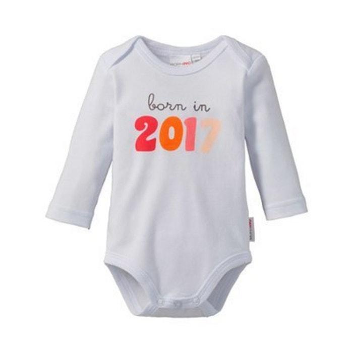 Bornino le body à manches longues born in 2017 bébé blanc Bornino ... 565265055c0