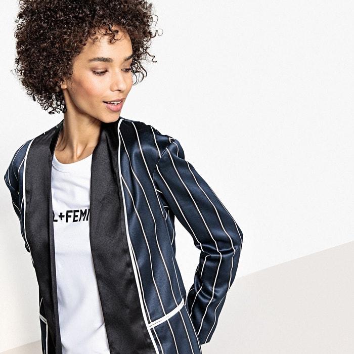 Débouché Réel La Redoute Veste pyjama à rayures Nice Vente Sites De Vente À Bas Prix Ddgq7T7IR