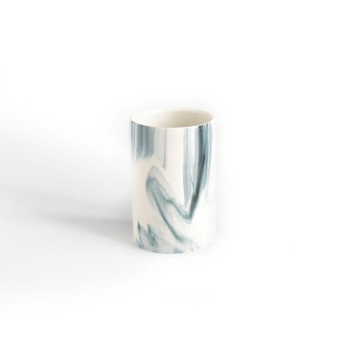 Gobelet de salle de bain mazani imprim marbre la redoute interieurs la redoute - Gobelet salle de bain ...