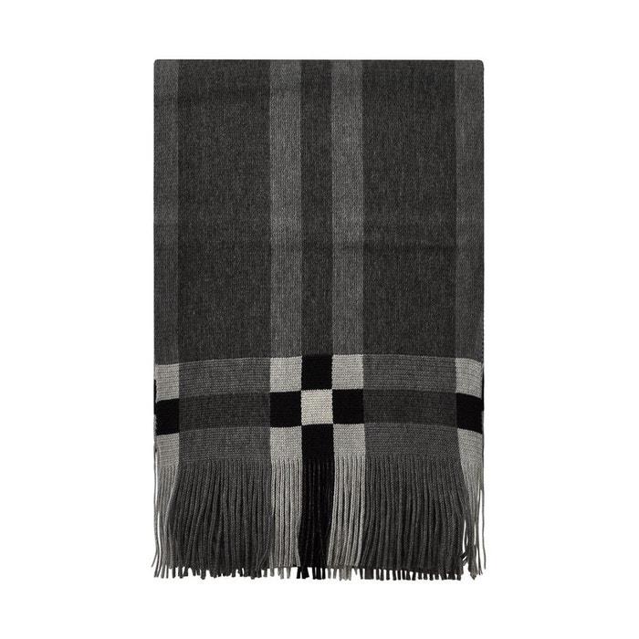 Fiable À Vendre 2018 Vente En Ligne Unisexe Echarpe en laine cube noir Amazone Jeu qSvMGojle